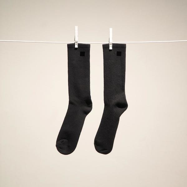 necessities;_socks,_black