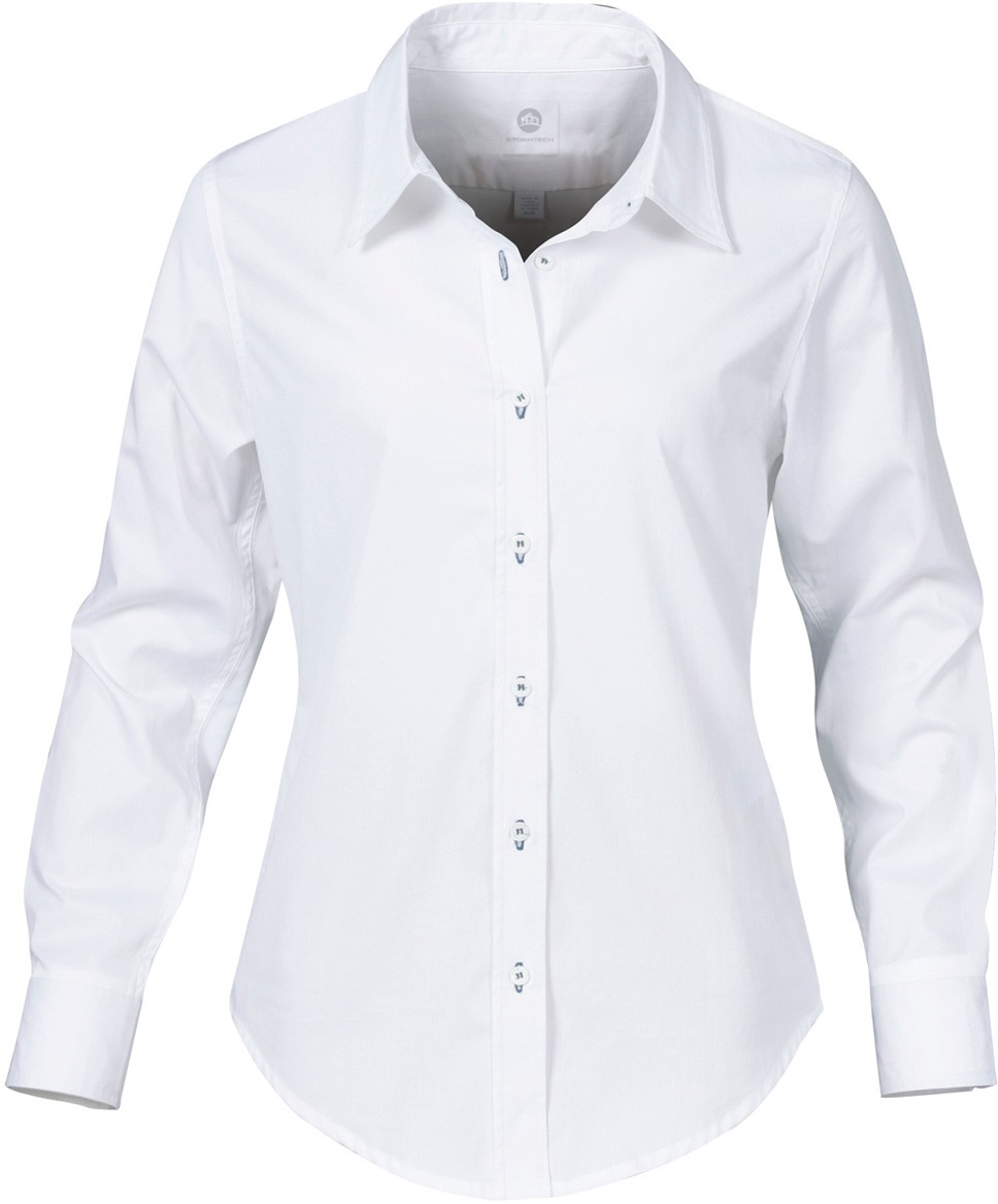 White Dress Shirts A classic white dress shirt is as versatile as it is timeless and possibly the most elegant piece of a gentleman's business arsenal. Paul Fredrick's collection of men's white dress shirts is tailored perfectly to fit both business and casual wear.